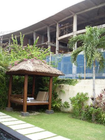 Balibaliku Beach Front Luxury Private Pool Villa: This overlooks the pool!