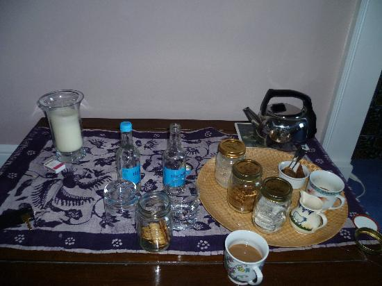 17 Lansdown Crescent: Tea Table in the Room