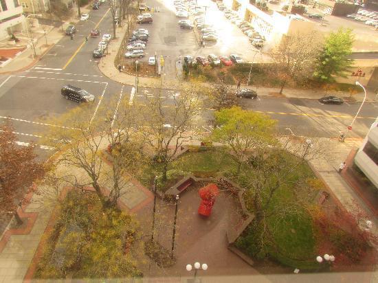 Residence Inn White Plains Westchester County: Vista desde habitación