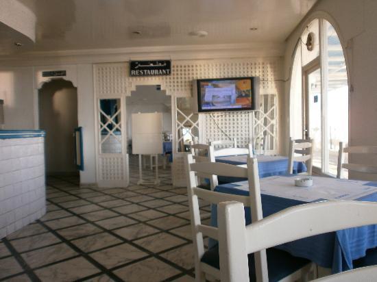 Hotel El Menchia: im Hintergrund Speisesaal vorne Kneipe