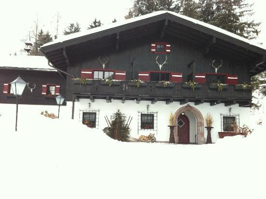 Restaurant Erlhof : Ansicht von außen
