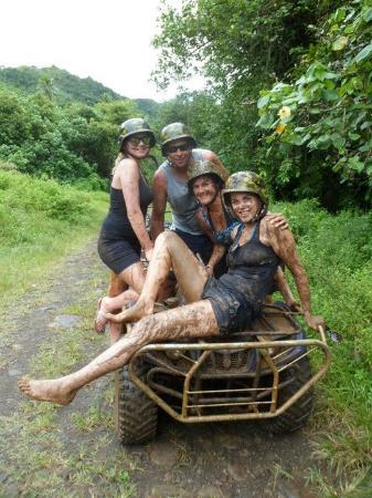 Coconut Tours : After playing in the Mud (Not compulsory)