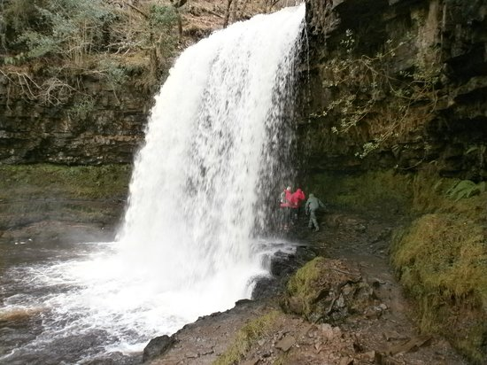 Brecon Beacons National Park, UK: Waterproofs required!