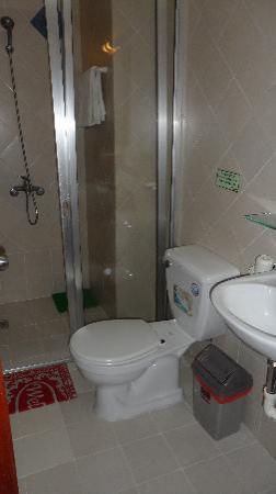 Bich Duyen Hotel: Enclosed shower