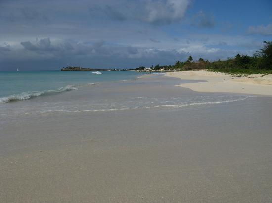 Antigua Cottages : la spiaggia