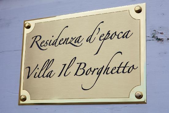 Villa il Borghetto Siena
