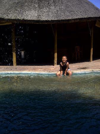Thornycroft Lodge: pool area