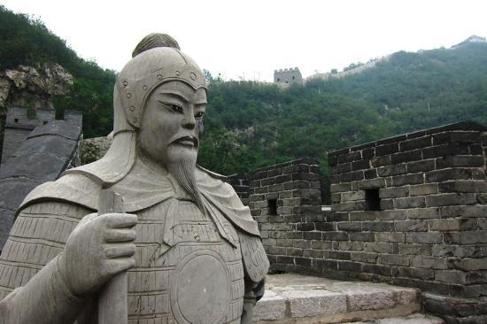 Guguan Great Wall: Guguan Pass: gate tower.