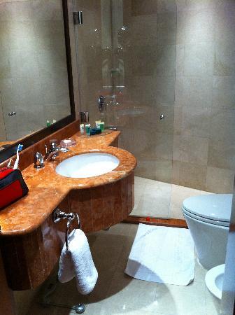 Musherib Hotel: baño
