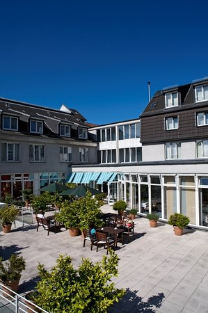 Atlantic Hotel Vegesack: Terrace