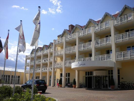 Rheinsberg, Allemagne : Hoteleinfahrt