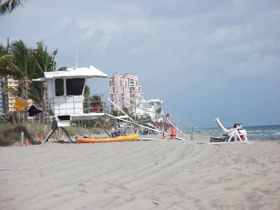 The Gallery at Beach Place : sur le bord de la plage à Sunrise floride