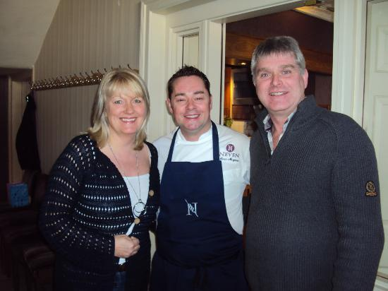 MacNean Restaurant : Meeting the chef!