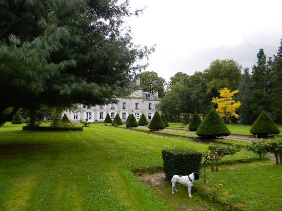 Chateau de Goville : il giardino