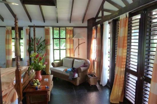 Fond Doux Plantation & Resort: Lovely interior of my cottage
