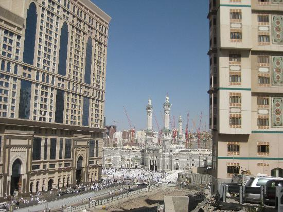 Elaf Ajyad Hotel Vue De La Mosquée En Sortant L