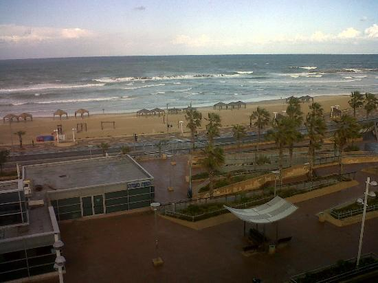 The Maxim Hotel : the view from my room