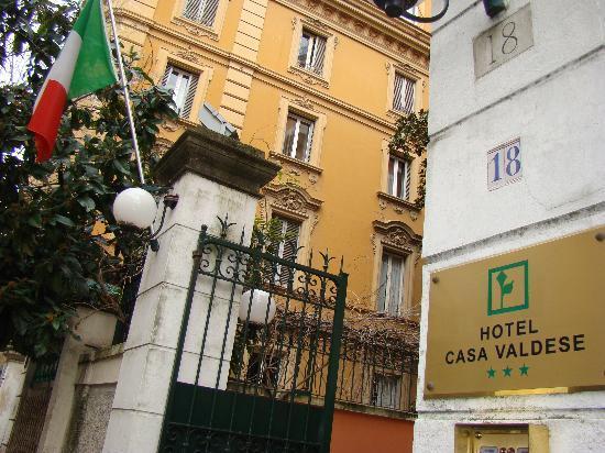 Casa Valdese: Outside