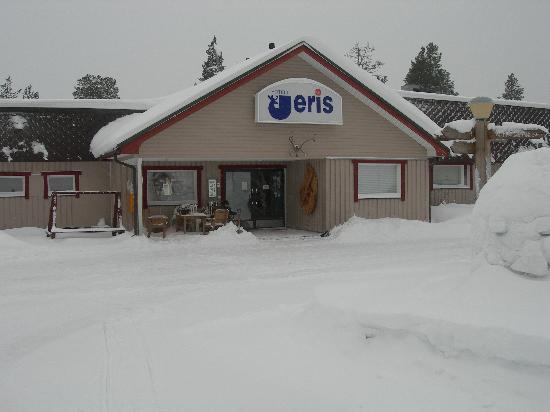 Hotel Jeris: Hôtel dans la neige