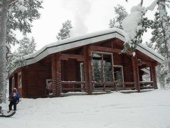 Hotel Jeris: Nuit au chalet dans les bois