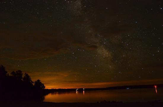 Nobel, Canada: Nightsky long exposure there is no visible light polution