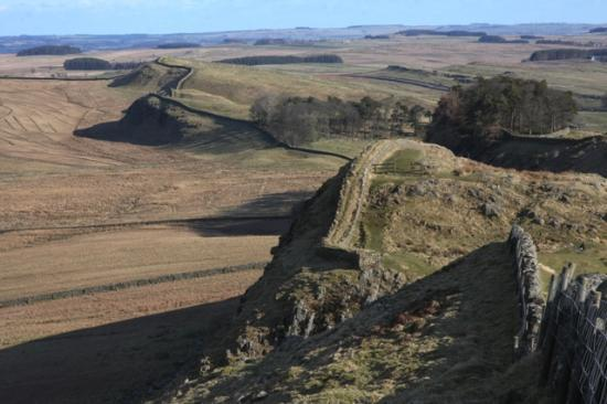 Northumberland, UK : WALL ROUTE