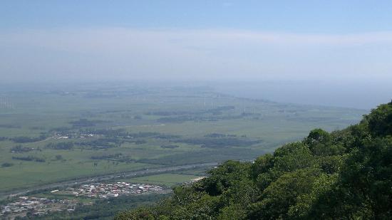 Osorio, RS : Vista do parque eólico