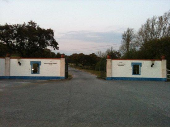 Hotel da Ameira: entrance