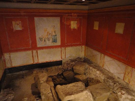 Estrato romano en la Casa del Obispo