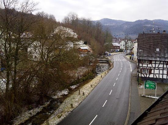 Landgasthof Hirsch : View from Hotel Room on a Feb morning