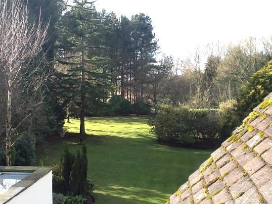 Kingsley Lodge: View from room over gardens