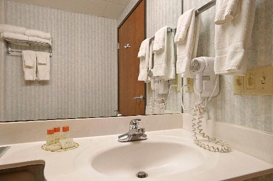 Americas Best Value Inn & Suites, Sunbury/Delaware,Ohio : Bathroom