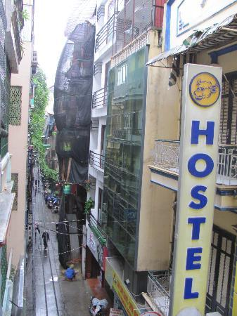 Vietnam Backpacker Hostels - The Original: view from the window 1