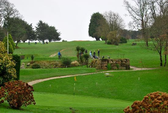 Budock Vean Hotel: View on the golf course