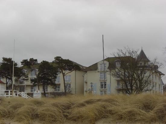 Hotel Aquamarin von Starnd aus