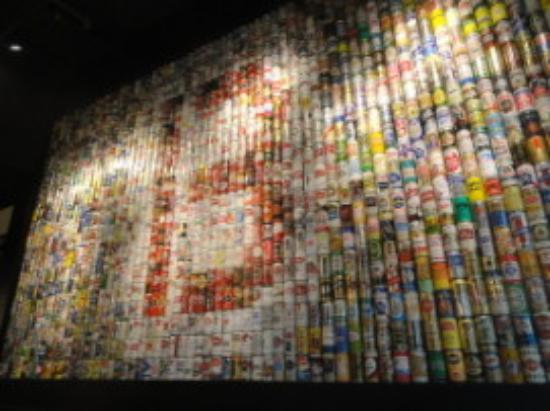 B Spot: Beer Can Wall