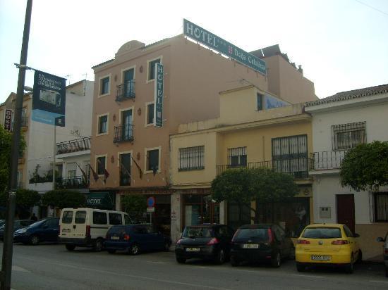 Hotel Dona Catalina : Frontvieuw hotel