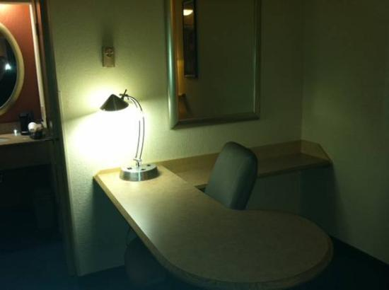 Red Roof Inn Edison: Desk Work Space