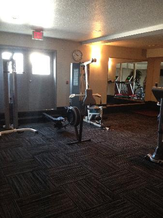 Ramada Edmonton International Airport: new exersise room