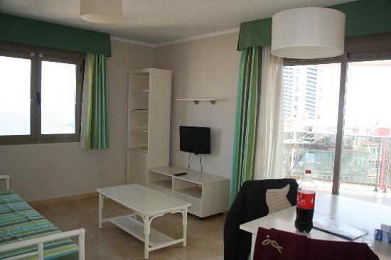 Aparthotel Esmeralda Suites: Living/Dining room