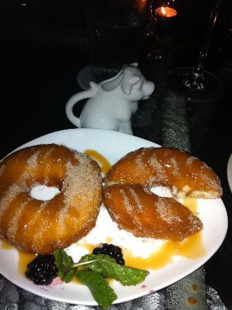Millstone Tea Room: homemade donuts: YUM