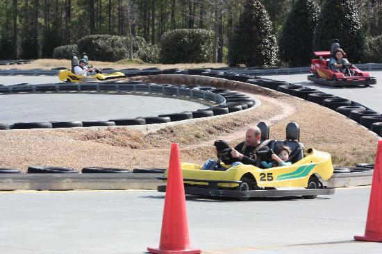 Frankie's Fun Park: The Go Cart with Dad!