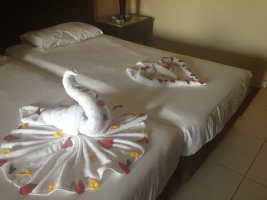 Jaz Dar El Madina: mooi opgemaakte bedden!