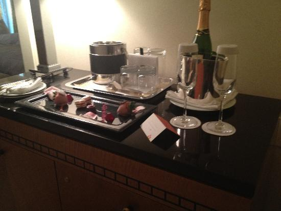 The Umstead Hotel and Spa: Champagne and Chocolates