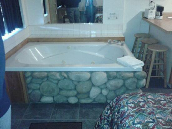 Honey Bear Lodge & Cabins : the spa