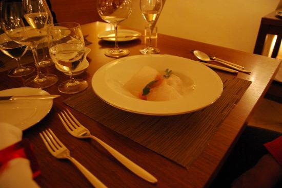 Essensia: Salmon Poached in Orange Oil