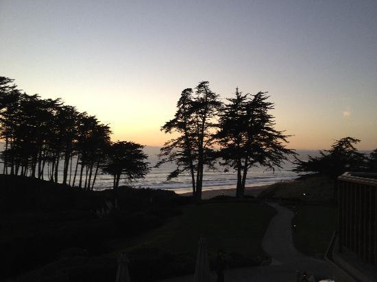 Sanderlings Restaurant : The View