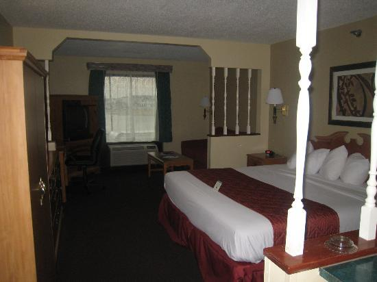 BEST WESTERN Suites: our room