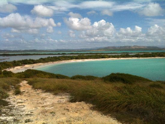 Playa Sucia: View from the cliff
