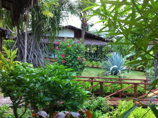 Orangea Village : giardino